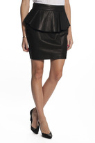 Torn By Ronny Kobo Peplum Skirt
