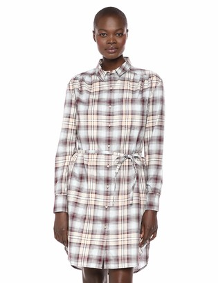 Pendleton Woolen Mills Pendleton Women's Long Sleeve Plaid Shirt Dress