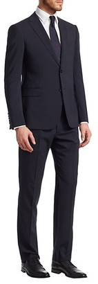 Emporio Armani Classic Modern Fit Wool Suit