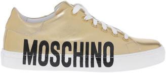 Moschino Gold Sneaker