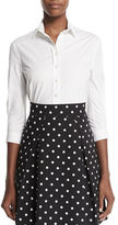 Carolina Herrera Classic Button-Front Shirt