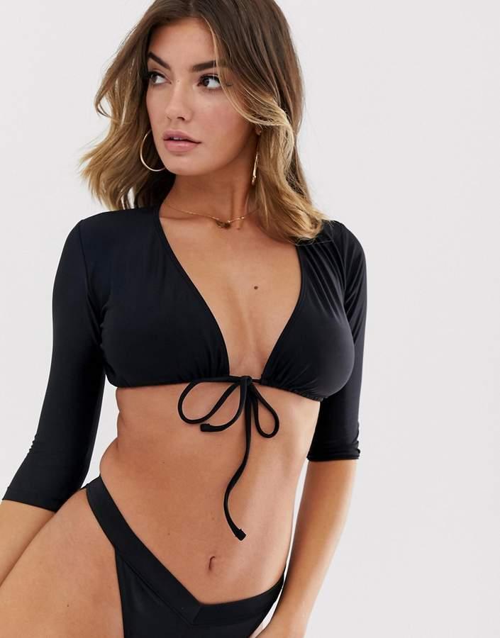 8ab22ec061a Tie Front Bikini - ShopStyle UK