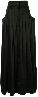 Aje Pleated Full Skirt