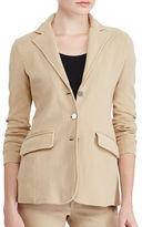 Lauren Ralph Lauren Plus Three-Button Sweater Jacket