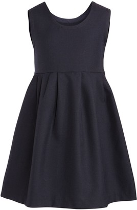 Unbranded Cameron House School Tunic Dress, Navy Blue
