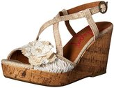 Jellypop Women's SHIMMY Wedge Sandal
