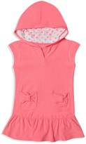 Hula Star Girls' Cotton Terry Cover-Up