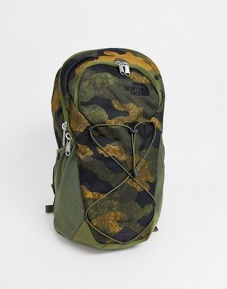 The North Face Rodey backpack in khaki camo-Green