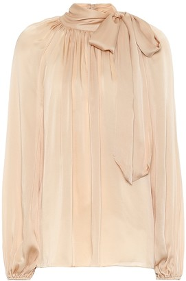 Zimmermann Silk bow-embellished blouse