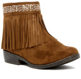 Steve Madden Jmaddyy Fringe Bootie (Little Kid & Big Kid)