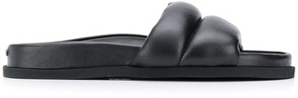 Kenzo Leather Sliders