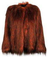 Dries Van Noten Faux Fur Jacket