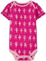 Kickee Pants Print One Piece (Baby) - Calypso Ballerina-6-12 Months