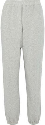 Simon Miller Melange Cotton-terry Track Pants