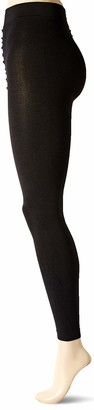 Hanes Women's Plus Size Curves Footless Tights