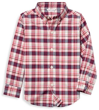 Janie and Jack Baby's, Little Boy's & Boy's Multicolor Madras Plaid Shirt