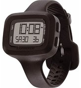 Converse VR025001 Understatement Classic Digital and Black Silicone Strap Watch