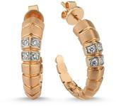 Dragon Optical Selda Jewellery Earrings with White Diamonds
