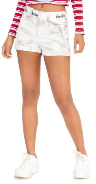 Dickies Junior's Belted Cuffed Shorts