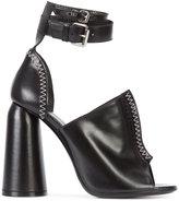 Ellery chunky heel sandals - women - Leather - 36