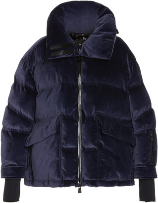 MONCLER GRENOBLE Oversized Quilted Shell Down Coat