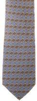 Burberry Silk Printed Tie