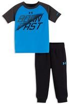 Under Armour Boys' Born Fast Tee & Mesh Jogger Pants Set - Sizes 2T-4T