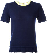Prada shortsleeved knit top
