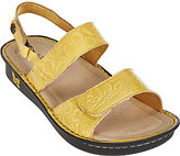 Alegria As Is Leather Sandals with Adjustable Straps - Verona