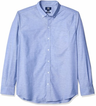 Cutter & Buck Men's Wrinkle Resistant Easy Care Stretch Oxford Button Down Shirt