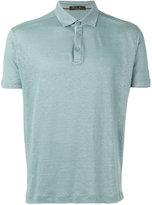 Loro Piana classic polo shirt - men - Linen/Flax - S