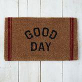 west elm Good Day Coir Doormat