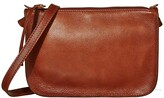 Madewell The Simple Crossbody Bag (English Saddle) Handbags