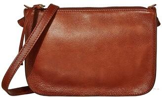 Madewell The Simple Crossbody Bag (English Saddle) Handbags