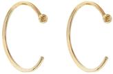 Melissa Joy Manning Large Hug Hoop Earrings - Yellow Gold