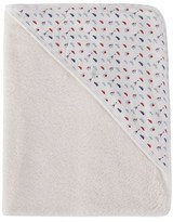 Petit Bateau Transport And Paris Print Hood Towel