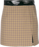Ssheena houndstooth mini skirt