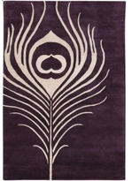 Pin It Thomas Paul Rugs Feather In Plum And Cream