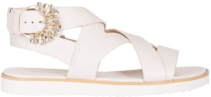 7ff047e3d MICHAEL Michael Kors Strap Buckle Sandals For Women - ShopStyle UK
