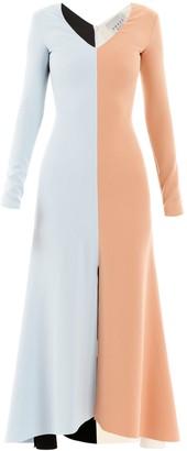 A.W.A.K.E. Mode Colour-block Dress