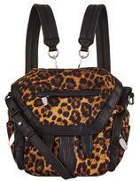 Alexander Wang Mini Marti Leopard Print Backpack