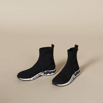 Sandro Flame Sock Sneakers