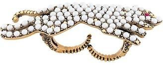 Gucci multi-finger tiger ring