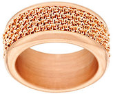 Margherita Bronzo Italia Wrapped Chain Band Ring