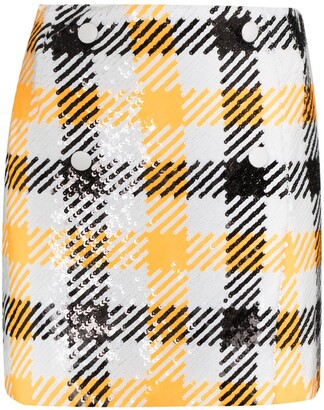 Rotate by Birger Christensen London sequin mini skirt