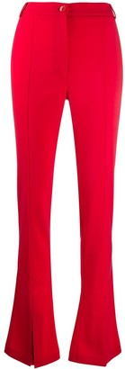 Patrizia Pepe High Waisted Flared Trousers