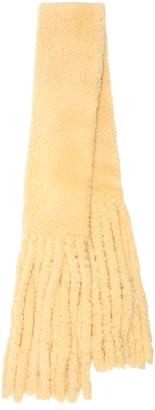 Bottega Veneta Fringed shearling scarf