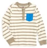 Tea Collection Toddler Boy's Fyne Stripe Henley