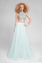 Terani Couture Gorgeous Two-piece Gown with Embelished Waist 1712P2746
