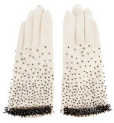 Kate Spade Embellished Cotton Gloves